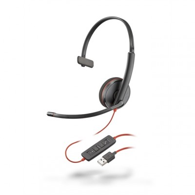 Headset com Fio USB Blackwire C3210 Plantronics