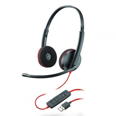Headset com Fio USB Blackwire C3220 Plantronics