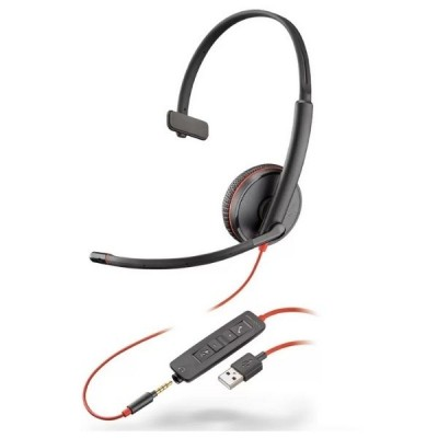 Headset com fio USB Blackwire C3215 Plantronics